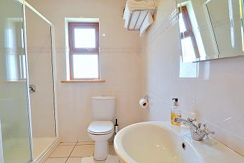 Spacious ensuite bathrooms with shower/WC/hand basin